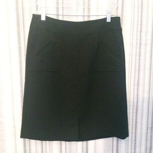 Banana Republic Black Career Pencil Skirt Size 2